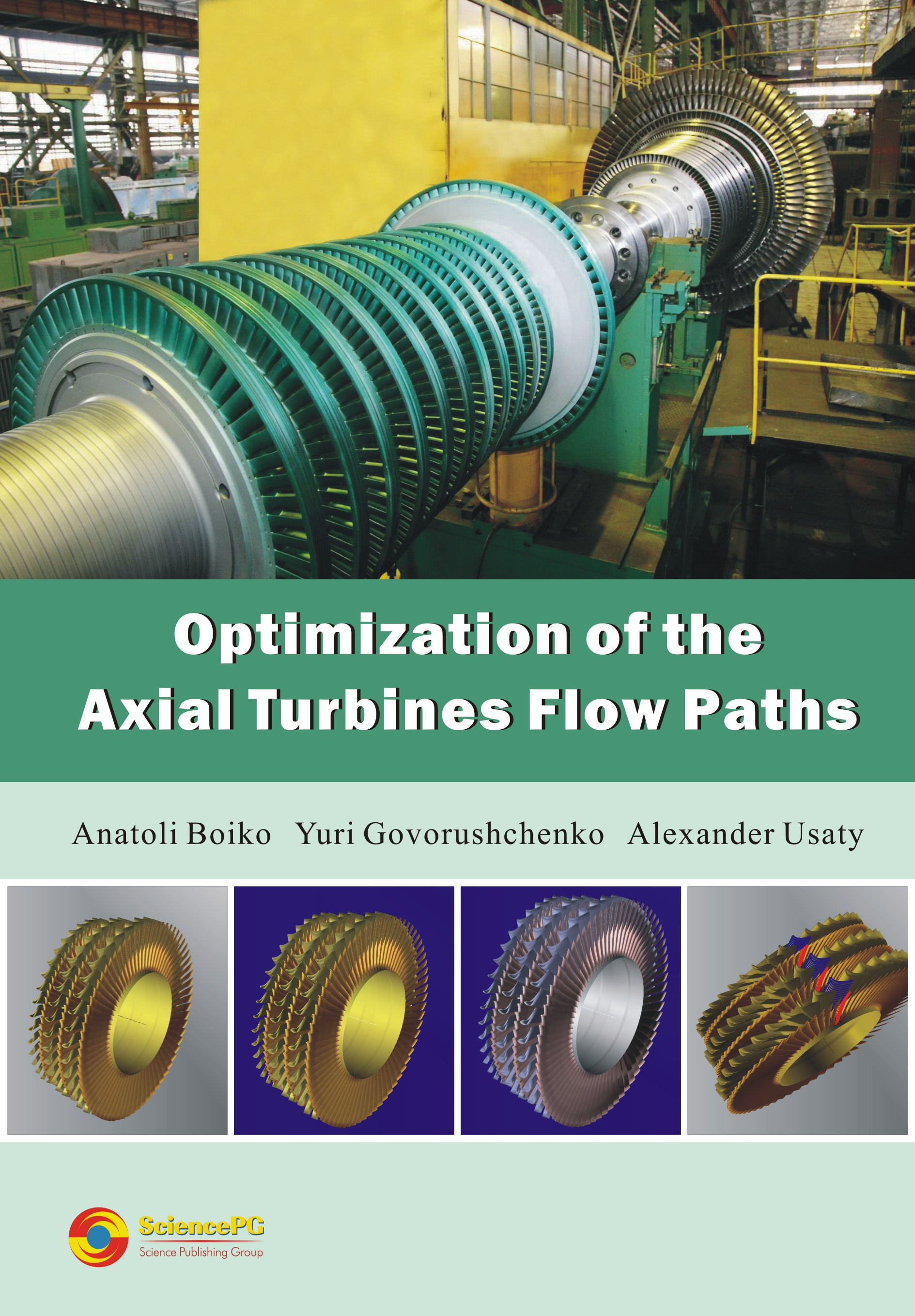 Optimization of the Axial Turbines Flow Paths Book Science